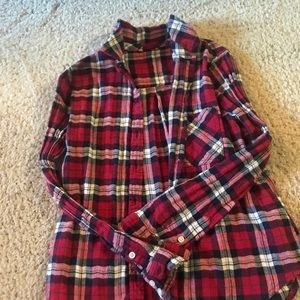 Forget 21 flannel top